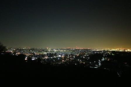 横浜市の夜景を一望できる「円海山」と横浜市最高峰「大丸山」での夜景は絶品だった!