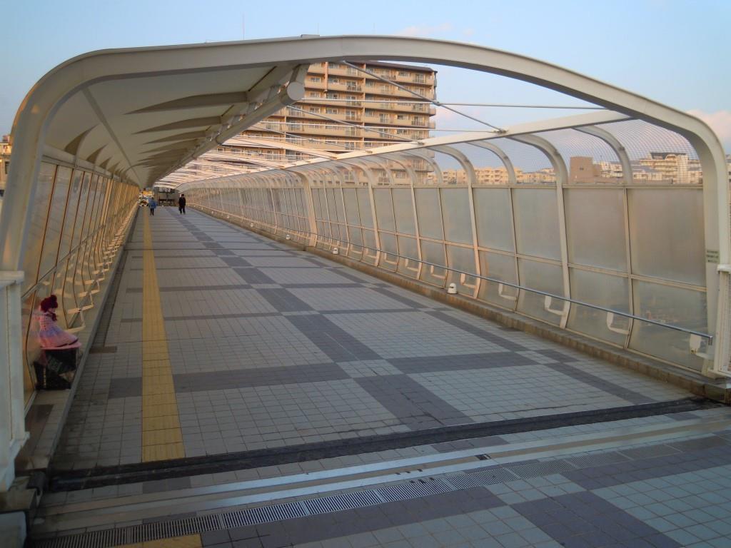 明石花火大会歩道橋事故現場