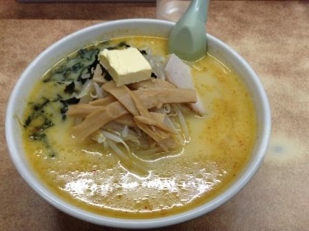 津軽名物味噌カレー牛乳ラーメン発祥の店「味の札幌 大西」
