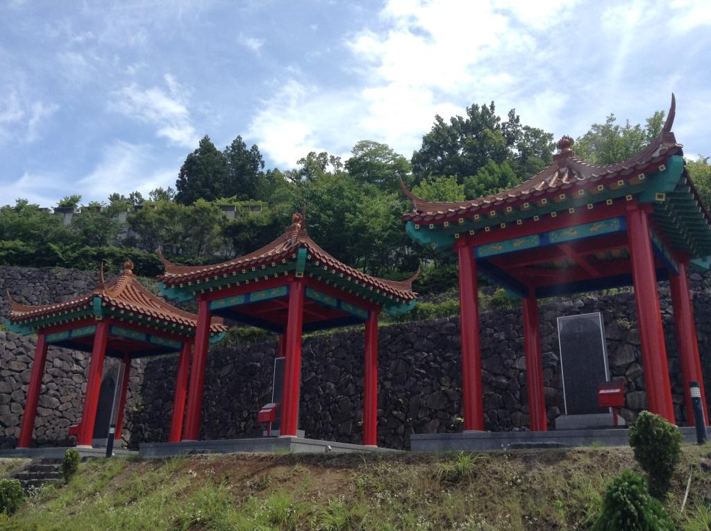 山梨に中国が!しかし、実は書道の公園なのです、大門碑林公園。