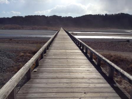 【ギネス認定】世界一長い木造の橋、蓬莱橋