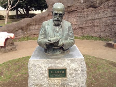 モース博士もご健在!ちょっくら縄文時代が学べる、大森貝塚遺跡庭園!