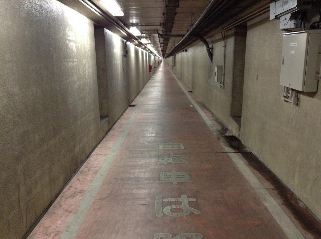 川崎市の謎の地下道