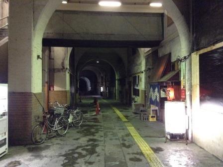 昭和の香りが漂う国道駅