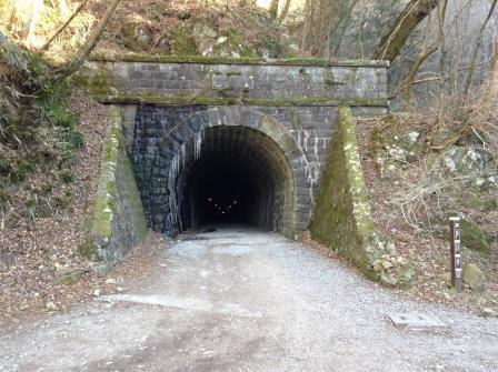 現存する日本最長の石造トンネル、旧天城トンネル