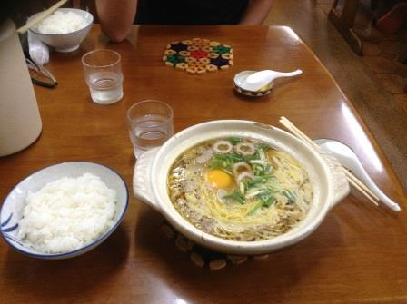 須崎の名店、橋本食堂で鍋焼きラーメンを食べてみた!