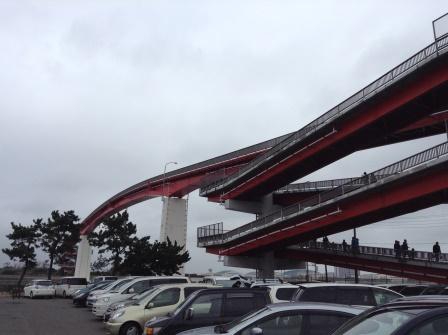 日本一の歩道橋、中の島大橋