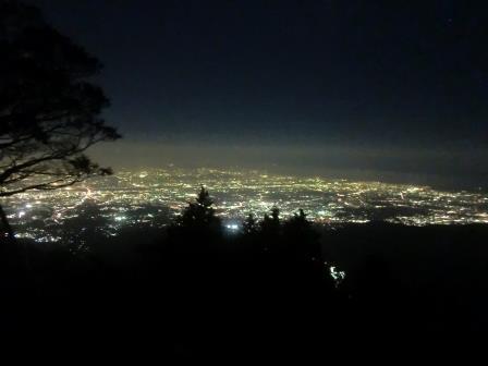 関東最高峰の夜景、大山!