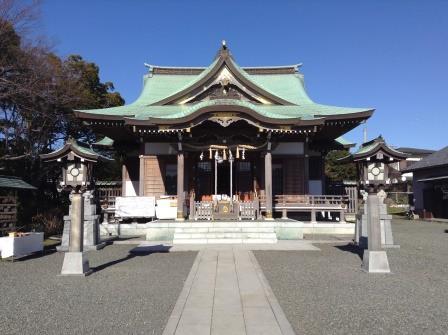 江の島伝説ゆかりの神社、龍口明神社