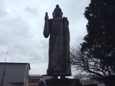 栃木に現る謎のスリランカ像、清林寺