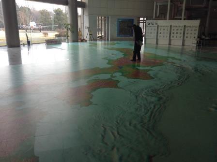 つくばで地図を学べるぞ、地図と測量の科学館