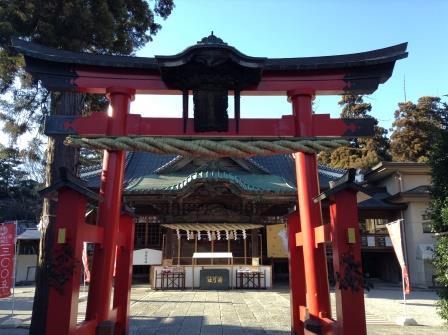 野球ではなく弓の神社なのです、箭弓神社