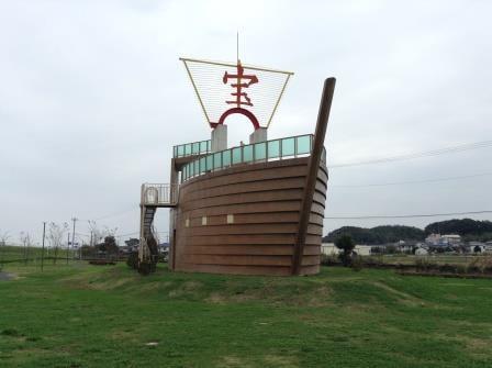 千葉県に何とも縁起がいい公園「下総利根宝船公園」が出現!!