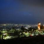 【雰囲気抜群】新日本三大夜景が見れる「笛吹川フルーツ公園」を、一人散策する!