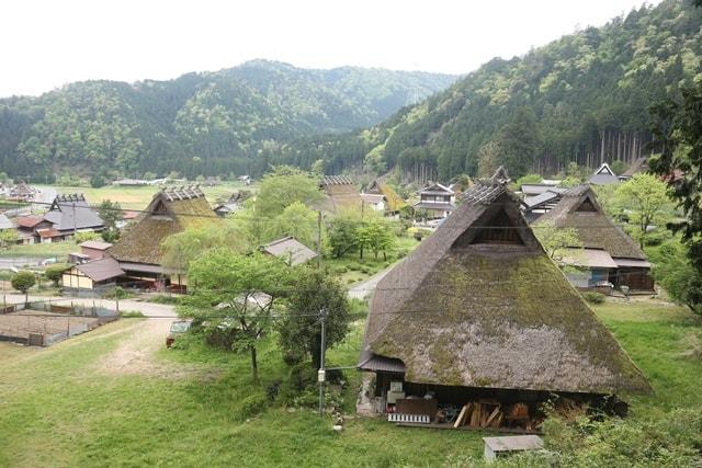 日本の原風景!京都「かやぶきの里」には昔の風景が残っていた!