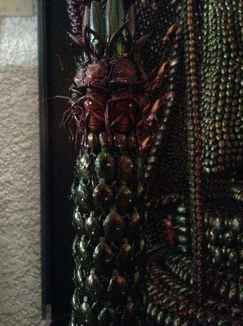 昆虫千手観音像