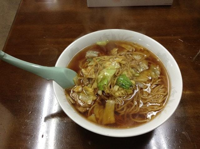スープ入り焼きそば