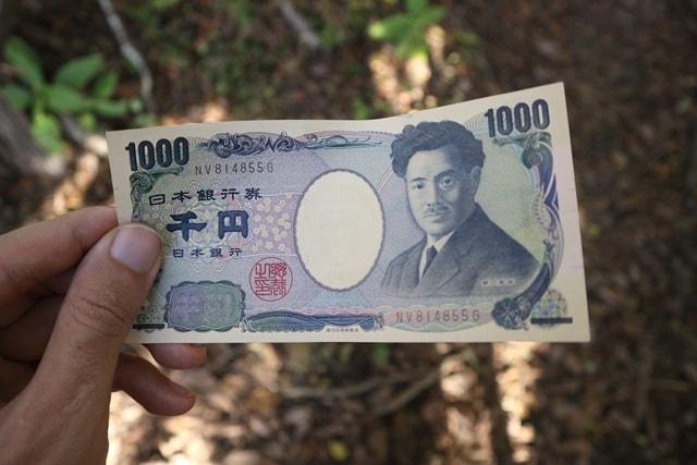 千円札の裏側に描かれた風景は「...