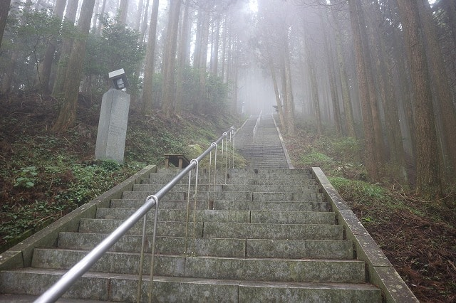 【続編】日本一長い石段「御坂遊歩道日本一石段」を7,000回近く登る超人に取材した!