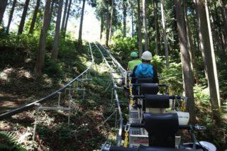山奥に超急斜モノレール!東京の超秘境に位置する「重要文化財 小林家住宅」を調査した!